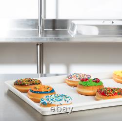12 Pack 18 x 26 White Display Storage Tray Bakery DonutCafe Cookie Serving CPS
