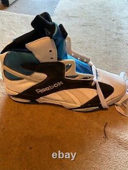 1993 Reebok Shaq Attaq The Pump Shoe Sneaker Store Display Basketball Size 20