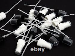 200 New Plastic Caps, White Fine Mist Sprayers Only Fits 24/410