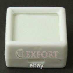 480pcs White Square Storage Cases Glass Top Gemstone Display Boxes ATPW1