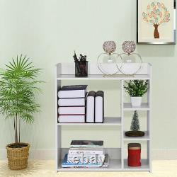 5 Cube Storage Shelf Rack Bookcase DIY Cabinet Organizer Bookshelf Display Unit