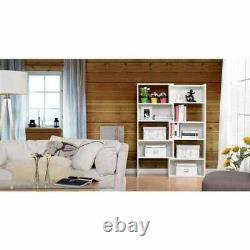 59 Bookcase Shelf Flexible and Expandable Shelving Console Storage Display