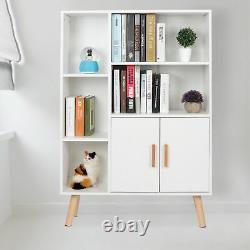 6 Cube Storage Shelf Rack Bookcase DIY Cabinet Organizer Bookshelf Display Unit