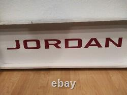 Air Jordan Large Nike shoe Store 3 ft Display Sign Michael Jordan Bulls
