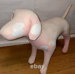 Big Victorias Secret PINK Store Display Dog
