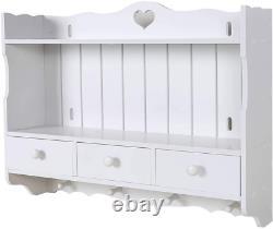 BigTree Wall Mounted Cupboards Shelves Bathroom Cabinet Kitchen Storage Display