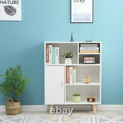Bookcase Unit Bookshelf Storage Shelving Display Rack Furniture For Home Office