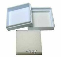 (Buy 1000 Pcs Get 100 Pcs Free) 3x3 Cm Gem Display plastic box Storage for Gems