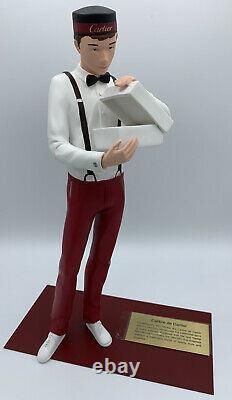 Cartier Bellboy Calibre De Cartier Watch Store Display Model Figurine 14