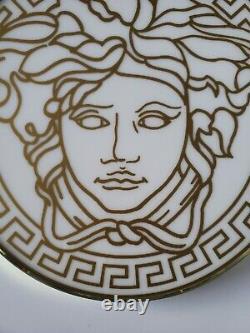 Custom Made Versace Medusa Signature Gold White Combination Store Display Sign