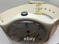 Giant Swatch Watch UNIQUE Vintage Store Display Folds And Functions! 1987