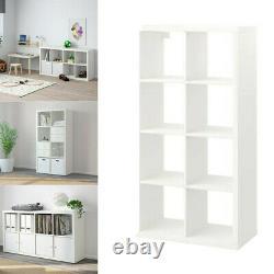 Ikea KALLAX 77x147 cm Drawer Shelving Storage Rack Display Shelving Unit White