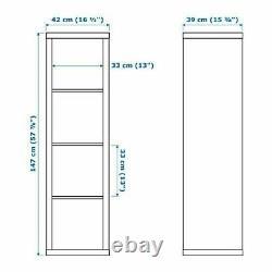 Ikea Kallax Storage Display Unit Shelving Bookcase Full Range Inserts Drona Box