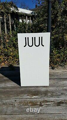 JUULS White Store Display Case Home House Countertop Cabinet Man Cave Metal