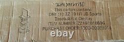 Jim Beam Promo Store Display Shelf Baseball Theme Bat Homeplate Wood Metal