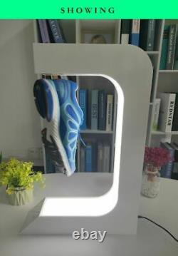 Magnetic Levitation Shoe Display Vitrine Floating Sneakers Rotation Store Stand