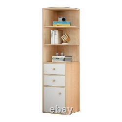 Multi-layer Bookshelf Bookcase Stand Storage Display Book Rack Home Organizer US