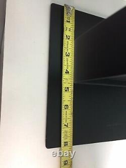 Nike Store Display Metal Sign Advertising Black White 24L x 8W