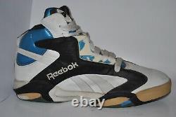 OG 1993 store display sneaker Reebok Shaq Attaq The Pump US20.5 UK19.5 EUR56.5