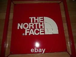 SALE! The North Face Classic Red Logo Metal Store Sign Display 24 x 24 x 1