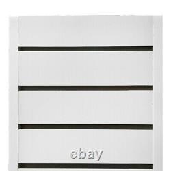 Slatwall Tower Unit Retail Store Display Fixture 24 x 24 x 54 White