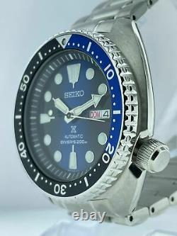 Store Display Model SEIKO Prospex SRPC25K1 Blue Dial Mens 45mm Automatic Watch