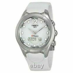 Store Display Model TISSOT T-Touch Solar White Dial Ladies Watch T0752201701700