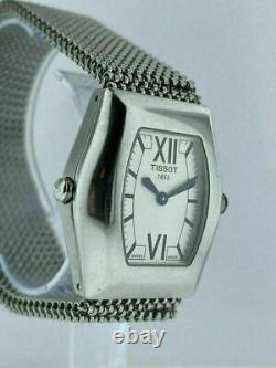 Store Display TISSOT T-Win Reversible Dial Ladies Quartz Watch T08.1.187.53