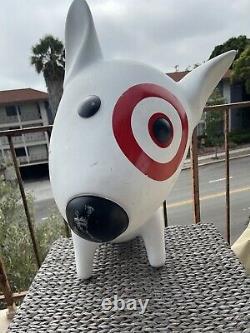 Target Dog Bullseye Store Display Large 31 Height x 32 Length x 16 Width RARE