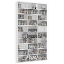 Tower Rack Storage Shelf Bookcase Cabinet CD DVD Organizer Stand Holder Display