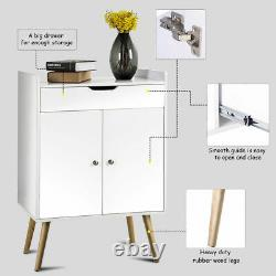 Two Door Buffet Sideboard Storage Cabinet Console Cabinet Table Sever Display