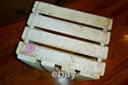 Victorias Secret PINK Store Display Wooden Crate White Washed EXTRA LARGE