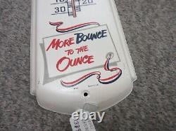 Vintage Advertising Pepsi Cola Soda Fountain Store Display Thermometer Tin 948-z