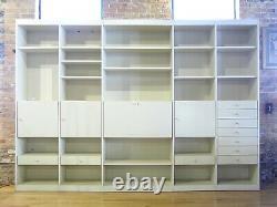 Vintage Interlubke Free Standing Display Storage System Wall Unit c 1970s