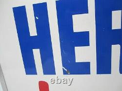 Vtg Hershey's Ice Cream Lighted 2 Sided Advertising Sign Store Display Light 29