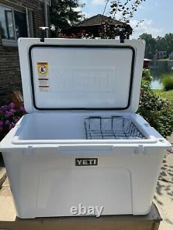 Yeti Tundra 105 White Store Display Nothing Ever Inside. Sold Out Rare