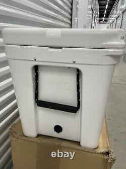 Yeti Tundra 110 White Used Event/Store Display. Sold Out Rare Size. Nice