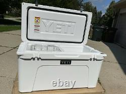 Yeti Tundra 75 White Store Display Nothing Ever Inside. Sold Out Rare Nice
