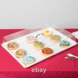 12 Pack 18 X 26 White Display Storage Tray Boulangerie Donutcafe Service De Cookies Cps