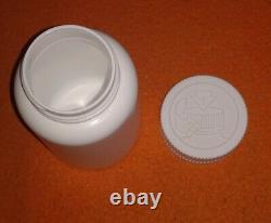 200cc / 280 White Round Hdpe Bouteilles De Médecine À Large Bouche En Plastique Et Bouchons De Sécurité