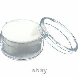 250 Gem Jars Display & Jewelry Storage Case Avec Inserts Blancs