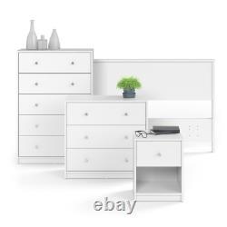 3 Tiroir Coffre Armoire Commode Chambre Vêtements Storage Organizer Table Display