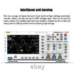 7 2channel Tablette Oscilloscope Usb Stockage Numérique Écran LCD 100mhz