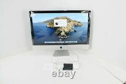 Apple Imac W Rétina 5k Affichage 27 Pouces 8 Go Ram 256 Go Ssd Stockage Rapide Blanc