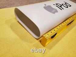Apple Ipod Store Display Sign Authentic Signe De Revendeur De Détail À Partir Du Milieu Des Années 2000