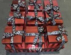 Beaucoup De 9 Victoria's Secret Store Display Boîtes De Noël Rare