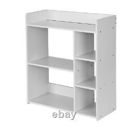 Bibliothèque D'étagère De Rangement 5 Cube Bricolage Cabinet Organisateur Librairie Display Unit
