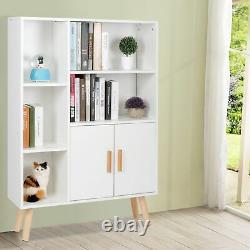 Bibliothèque D'étagère De Rangement 6 Cube Bricolage Cabinet Organisateur Librairie Display Unit