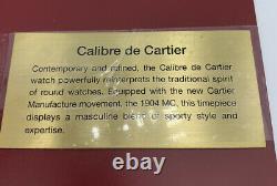 Cartier Bellboy Calibre De Cartier Watch Store Modèle D'affichage Figurine 14