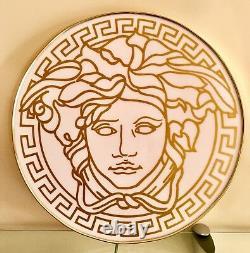 Custom Made Versace Medusa Signature D'or Blanc Combinaison Magasin Afficher Signe